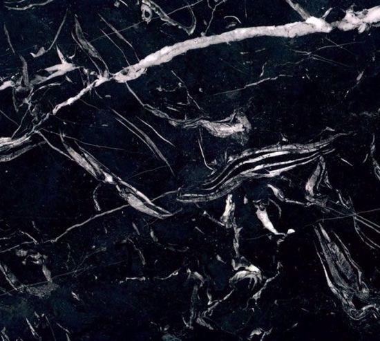 Gramar Italiano Marmor Fliser Nero Marquina fra Italien